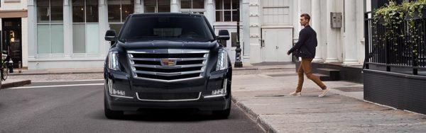 2018 Cadillac Escalade front fascia