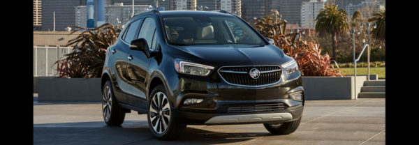 2019 Buick Encore in parking lot
