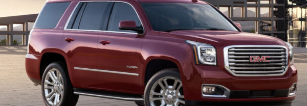 2019 GMC Yukon driving down street